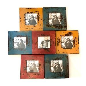 Country Rustic collage picture frame